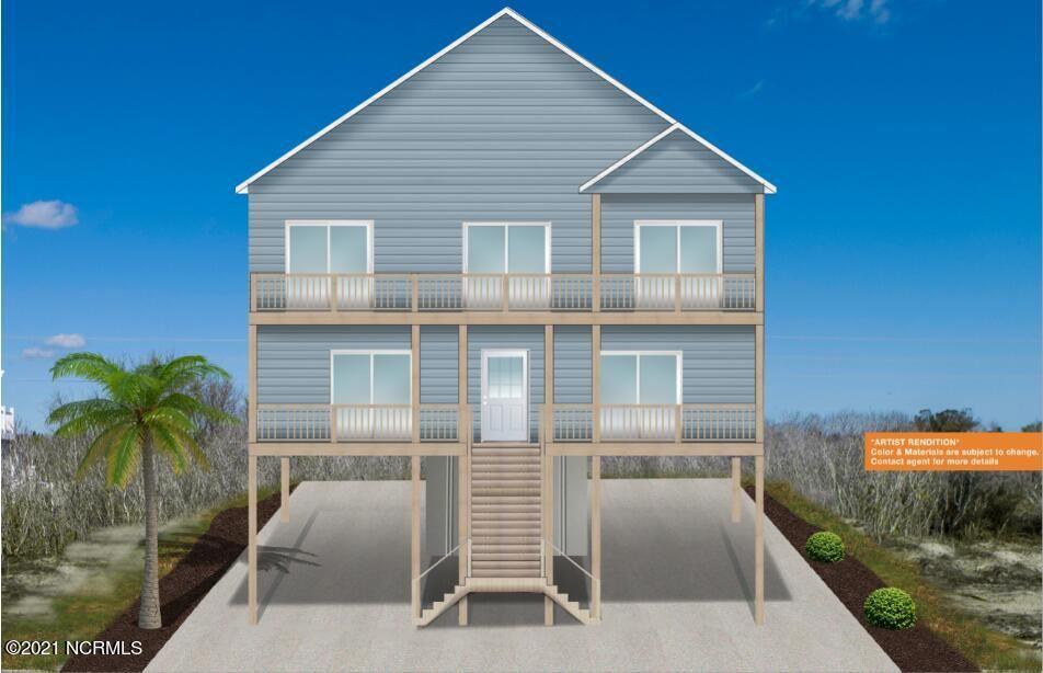 Photo for 439 Hampton Colony Circle, North Topsail Beach, NC 28460 (MLS # 100255232)