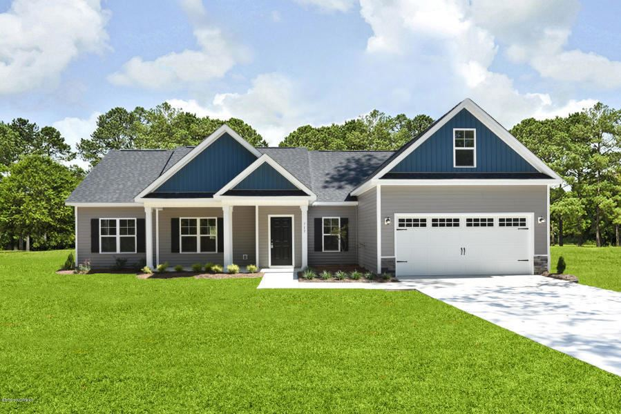 Photo for 615 Weeping Willow Lane, Jacksonville, NC 28540 (MLS # 100265233)