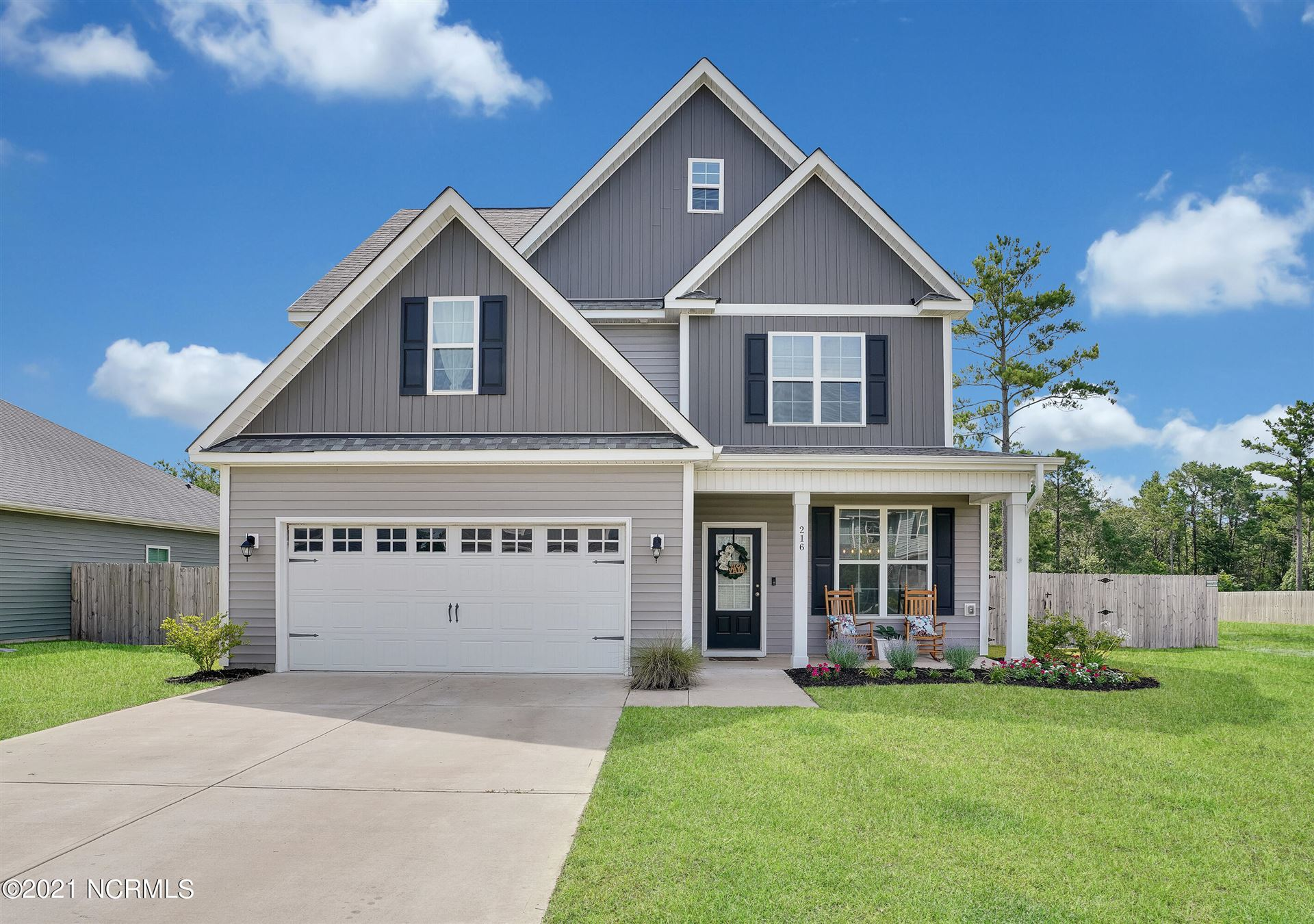 Photo for 216 Salty Dog Lane, Sneads Ferry, NC 28460 (MLS # 100280236)