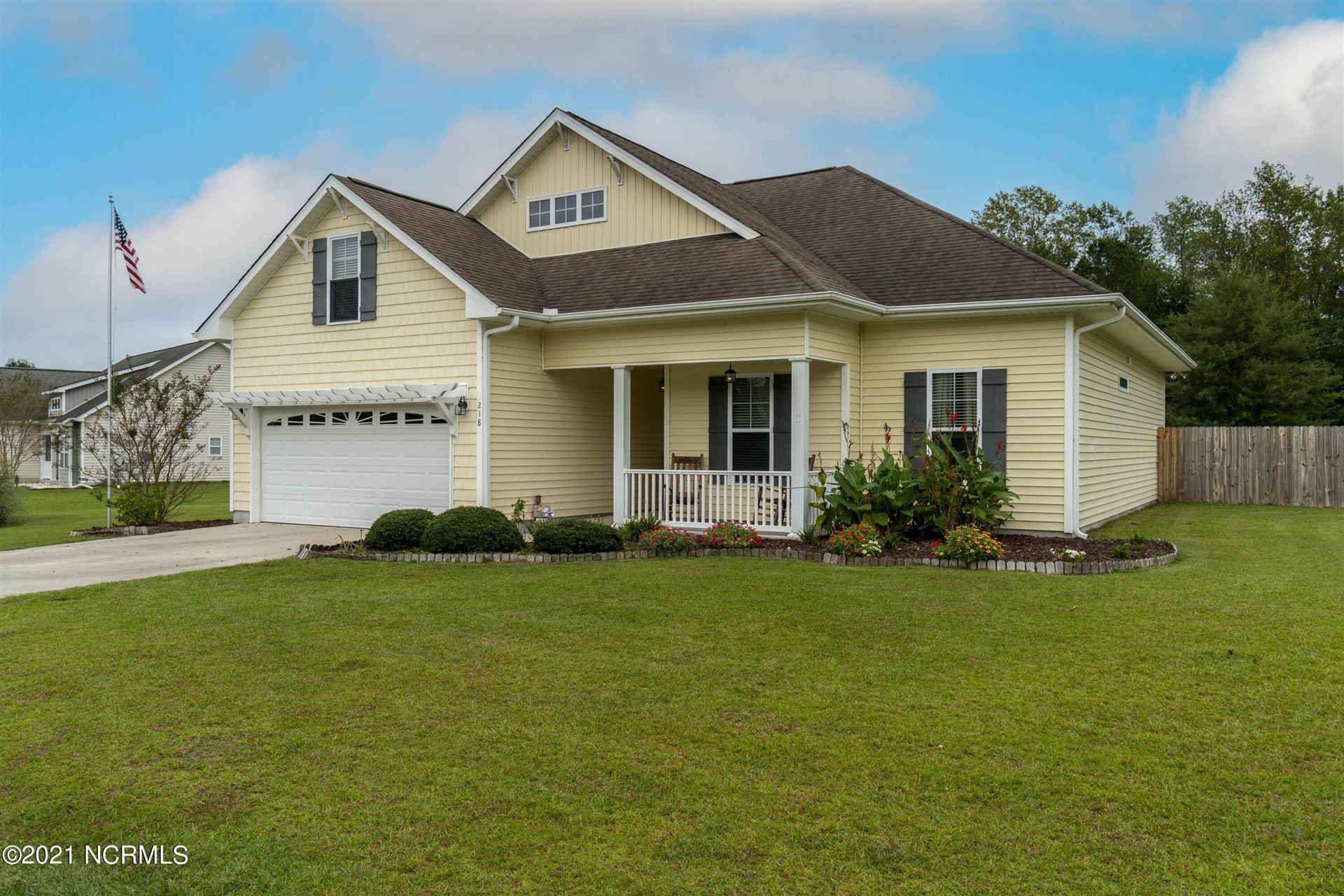 Photo of 218 Blue Creek Farms Drive, Jacksonville, NC 28540 (MLS # 100293237)
