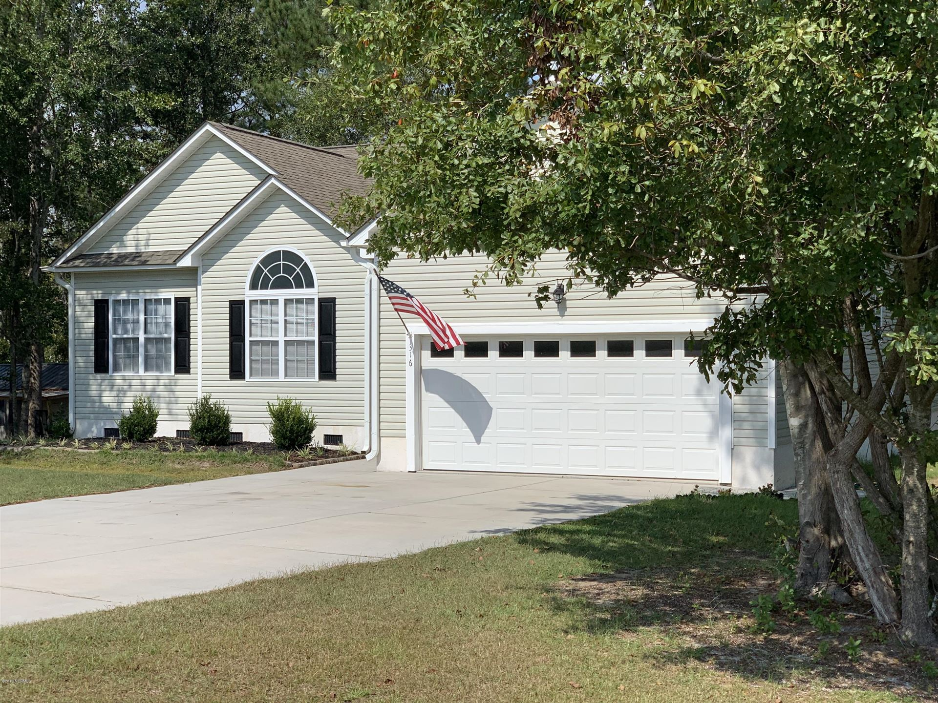 316 Coldwater Drive, Swansboro, NC 28584 - #: 100186242