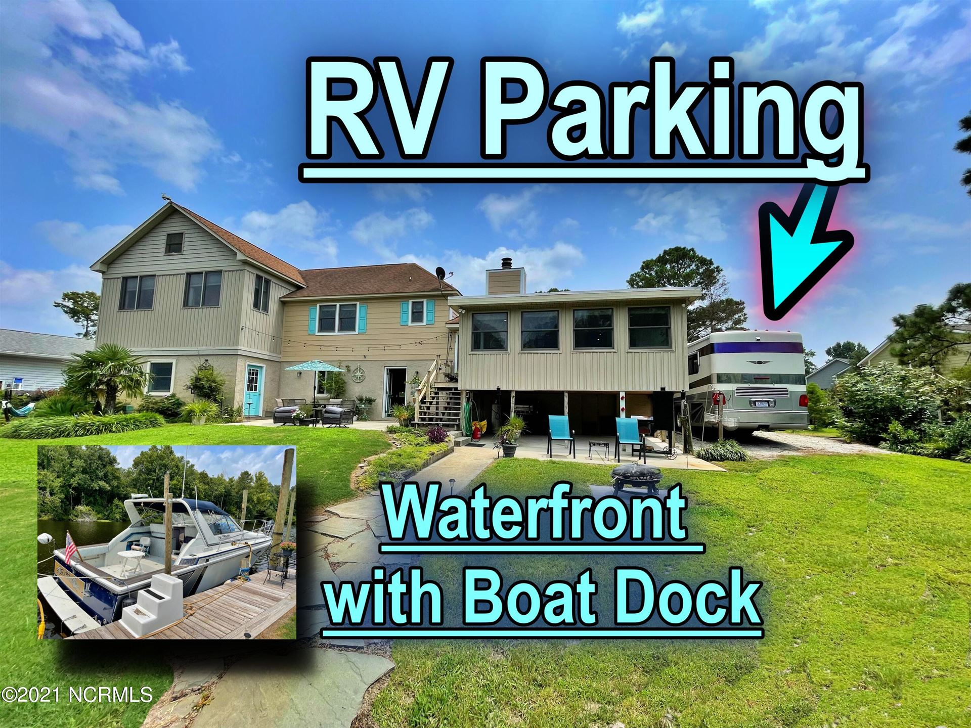 Photo of 105 Captains Cove, New Bern, NC 28562 (MLS # 100284246)