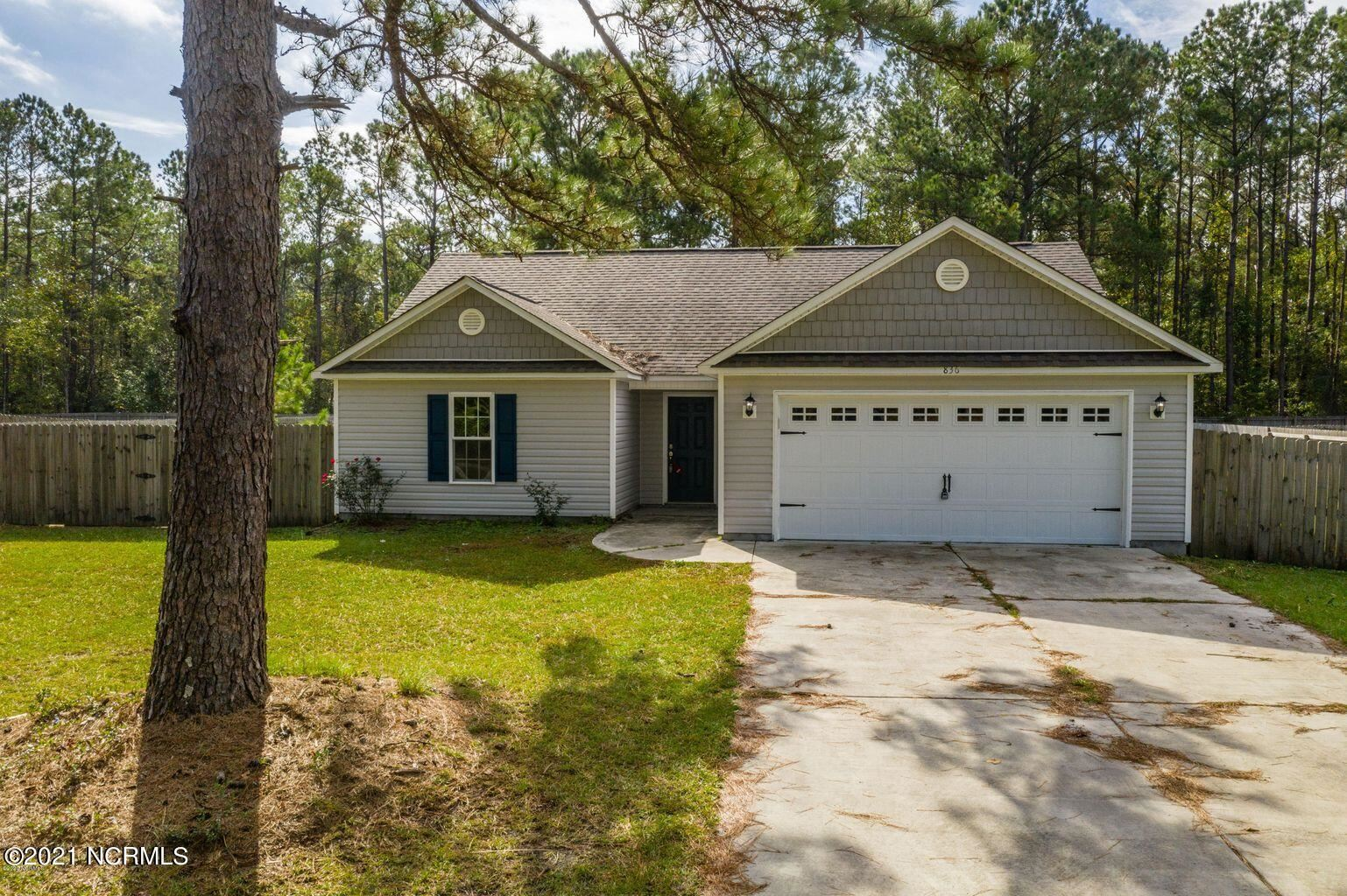 Photo of 836 Old Folkstone Road, Sneads Ferry, NC 28460 (MLS # 100292254)
