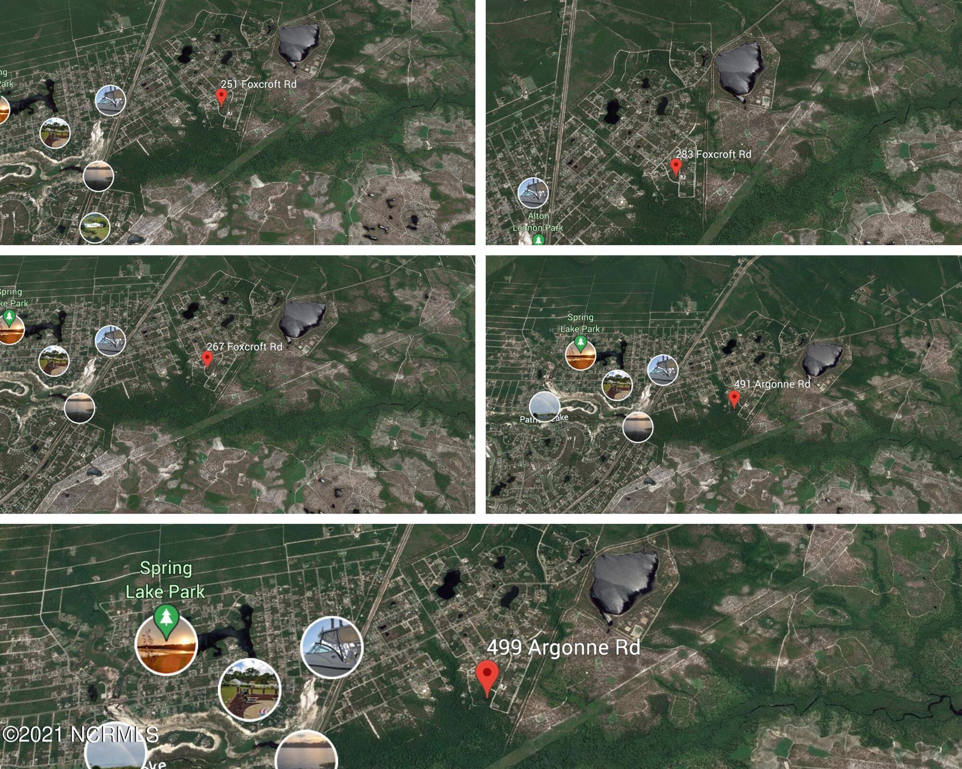 Photo of 5 Lots Argonne/Foxcroft Road, Boiling Spring Lakes, NC 28461 (MLS # 100288255)