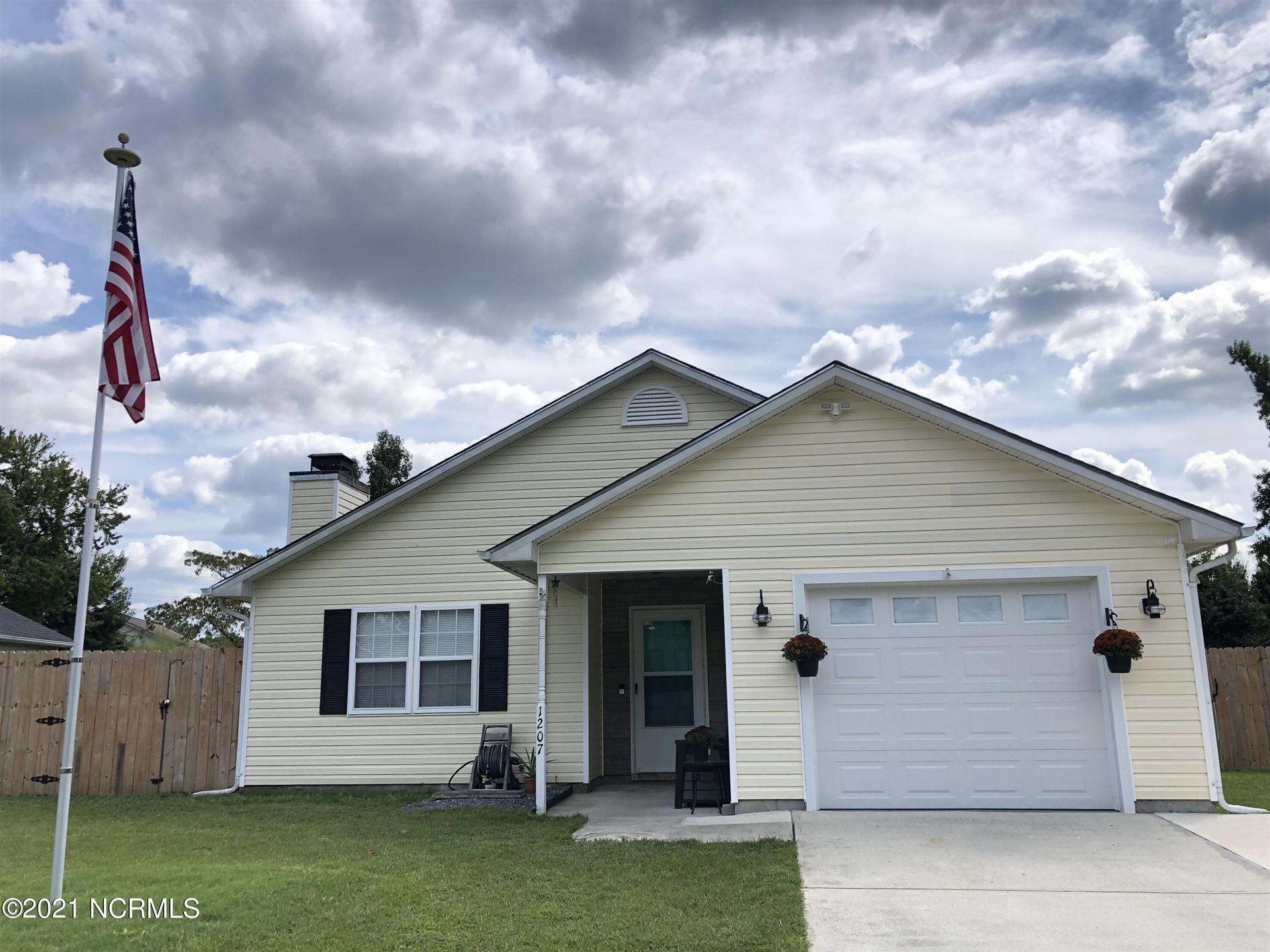 Photo of 1207 Gerald Drive, Jacksonville, NC 28540 (MLS # 100293257)