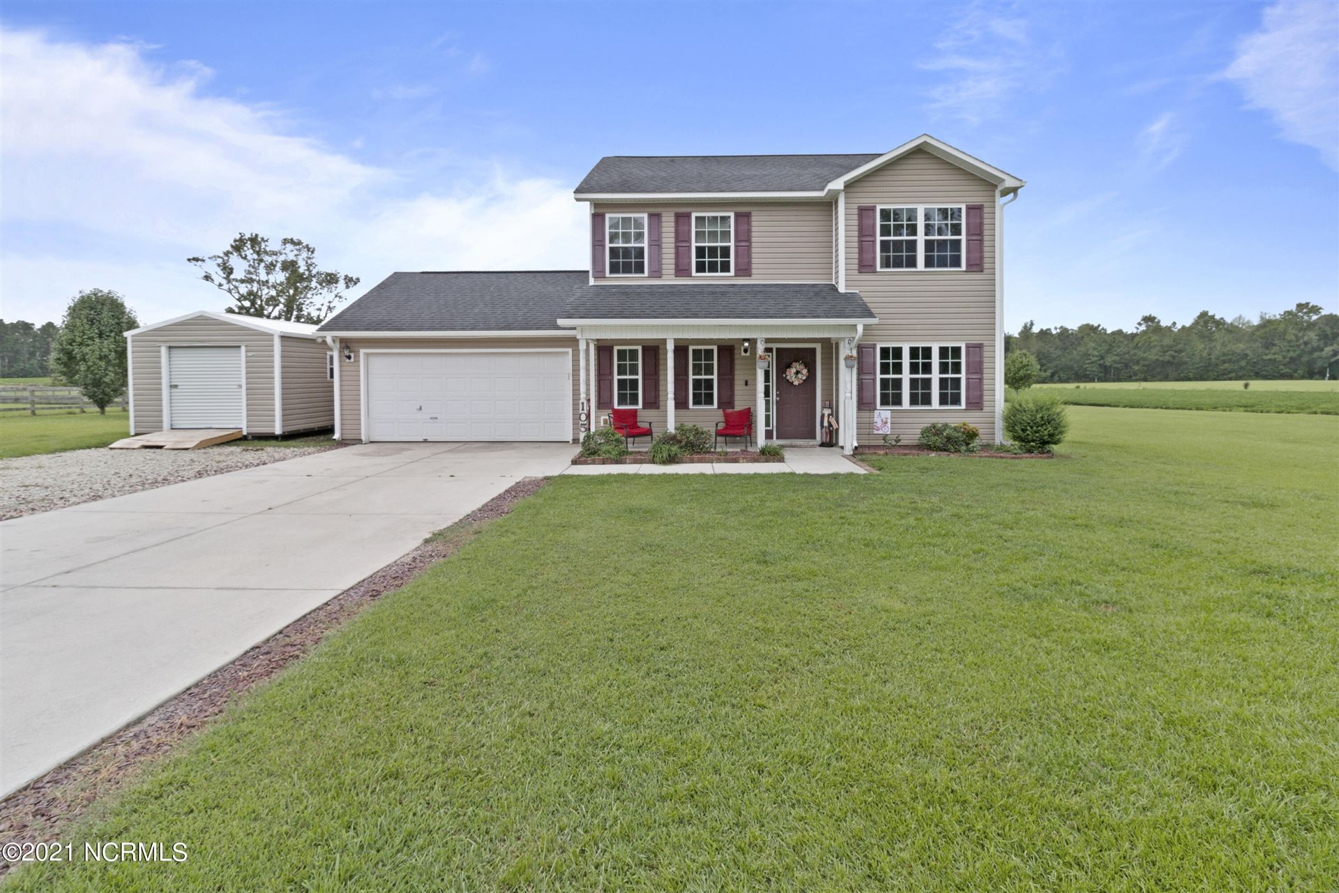 Photo of 105 Hall Effect Lane, Maple Hill, NC 28454 (MLS # 100288269)