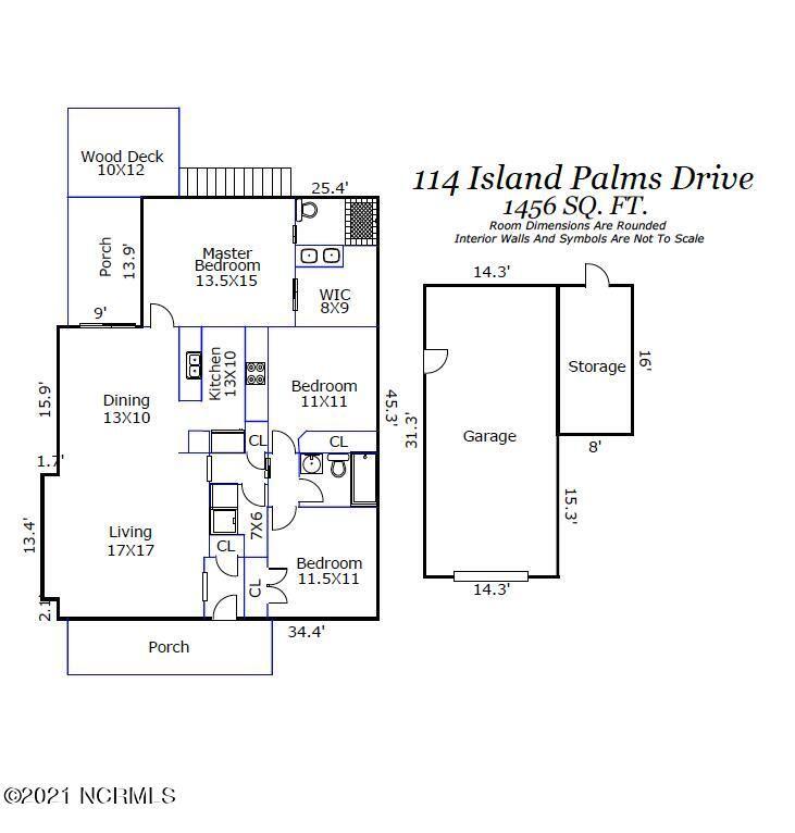 Photo of 114 Island Palms Drive, Carolina Beach, NC 28428 (MLS # 100294273)