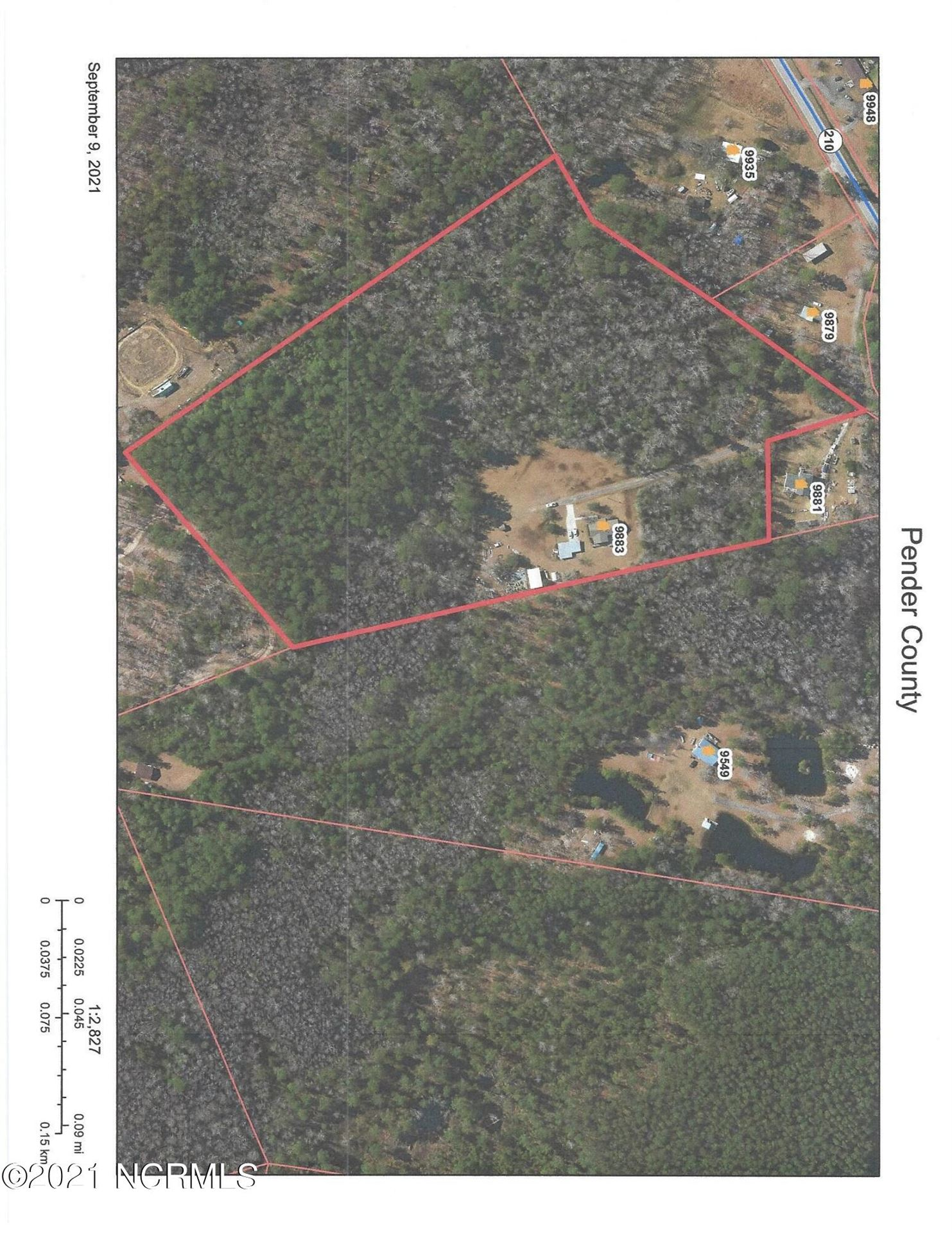 Photo of 9883 Nc Highway 210, Rocky Point, NC 28457 (MLS # 100290274)