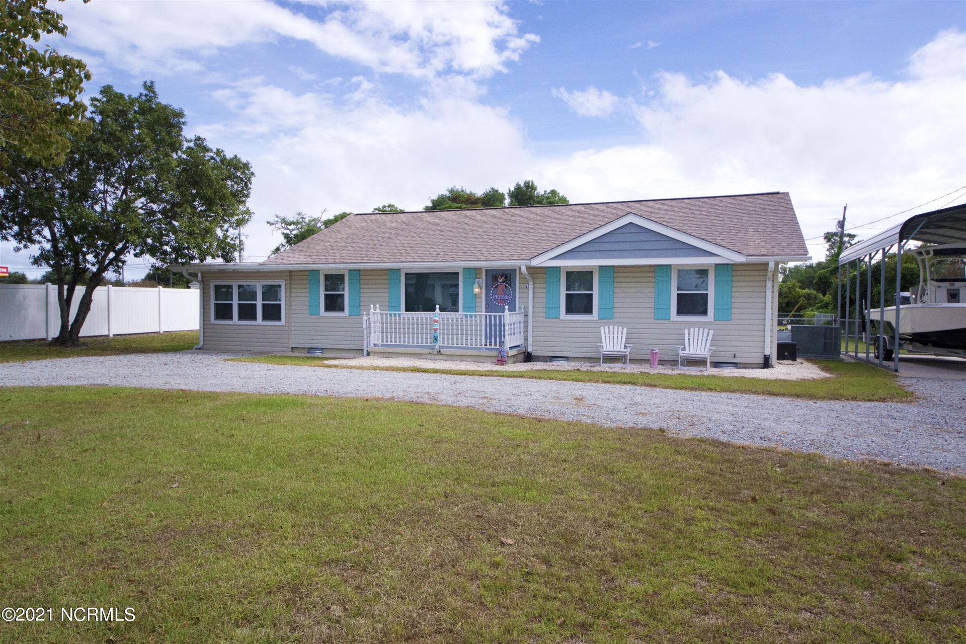 Photo of 103 Dolphin Street, Cape Carteret, NC 28584 (MLS # 100291283)