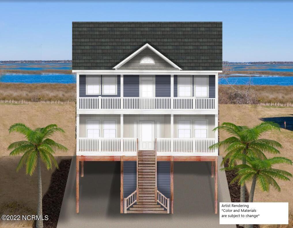 Photo for 119 Sea Gull Lane, North Topsail Beach, NC 28460 (MLS # 100274286)