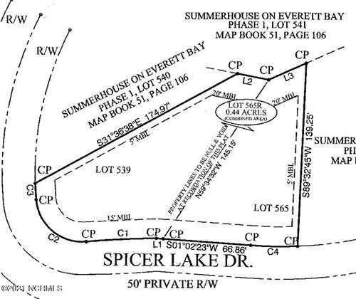Photo of 153 Spicer Lake Drive, Holly Ridge, NC 28445 (MLS # 100265291)