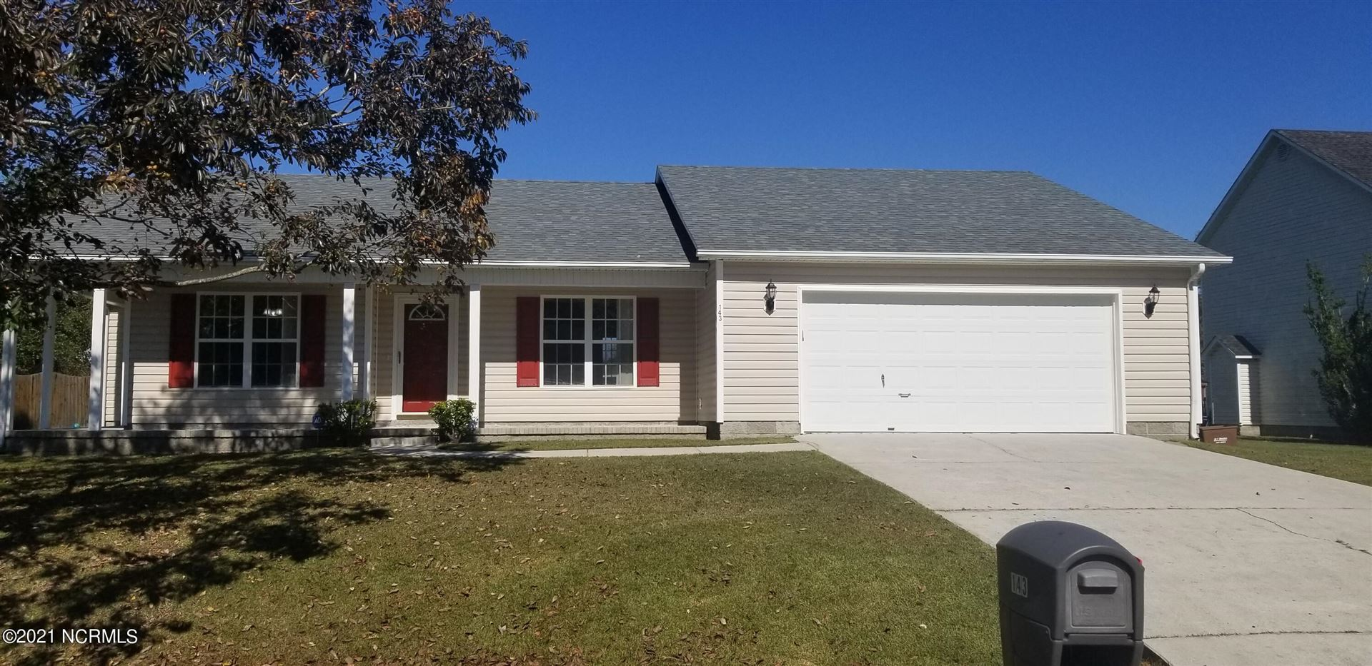 Photo of 143 Plow Point Lane, Jacksonville, NC 28546 (MLS # 100296298)