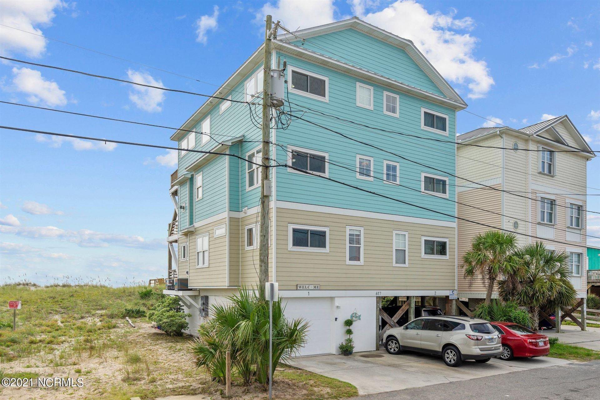 Photo for 617 S Carolina Beach Avenue #Unit 1, Carolina Beach, NC 28428 (MLS # 100287301)