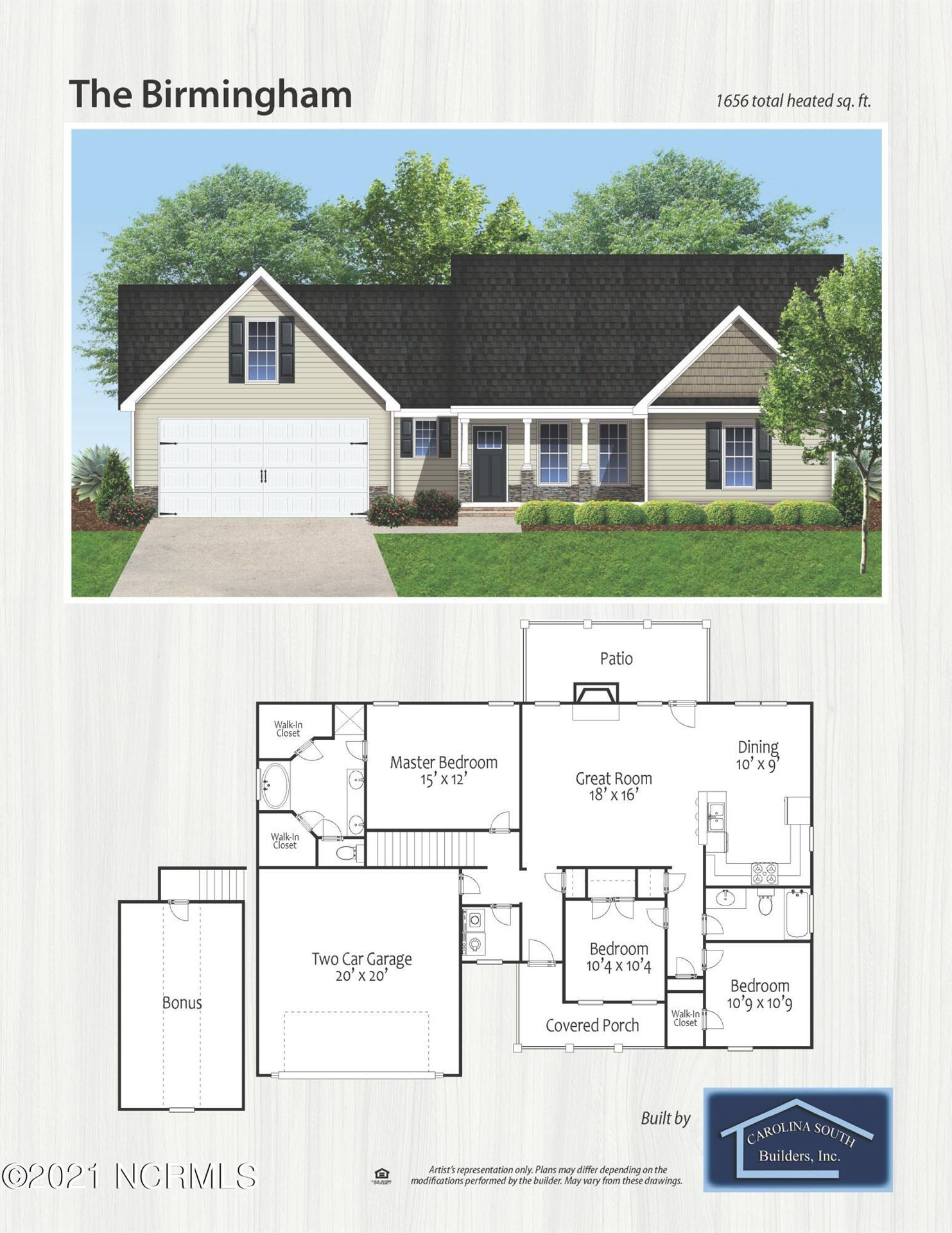 Photo of 417 Duster Lane, Richlands, NC 28574 (MLS # 100295304)