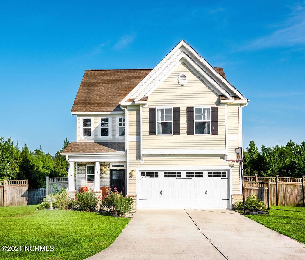 Photo for 107 Courtney Drive, Jacksonville, NC 28540 (MLS # 100285306)