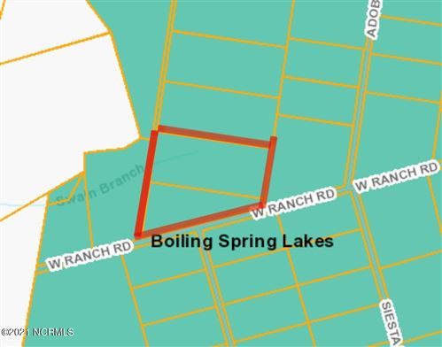 Photo of Tr-6 & 5 Ac Bsl Plat G/111, Boiling Spring Lakes, NC 28461 (MLS # 100280307)