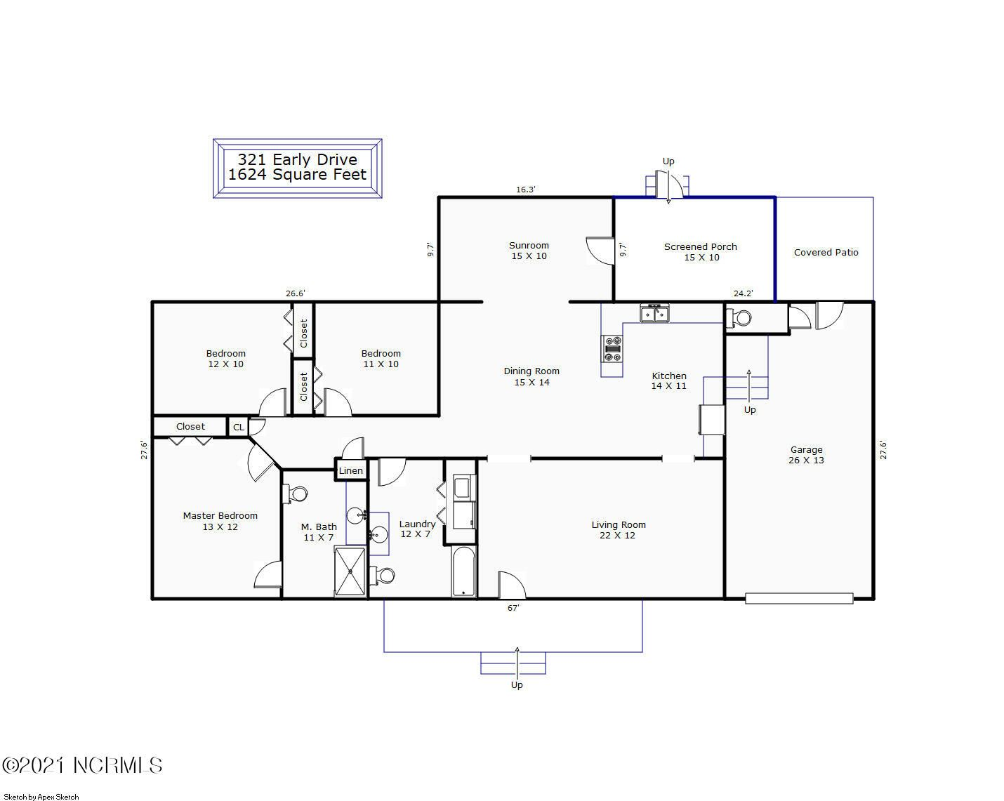 Photo of 321 Early Drive, Wilmington, NC 28412 (MLS # 100295316)