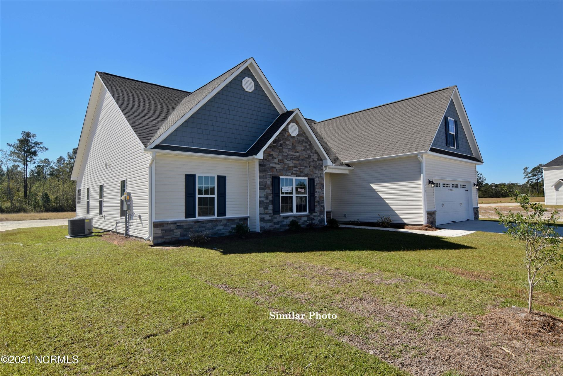 Photo of 122 Evergreen Forest Drive, Sneads Ferry, NC 28460 (MLS # 100260323)