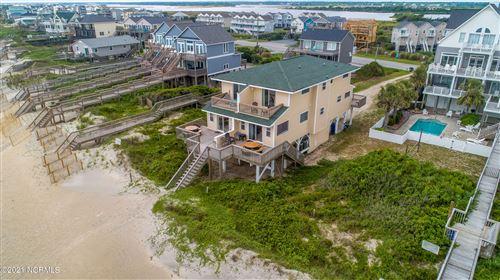 Photo of 3564 Island Drive, North Topsail Beach, NC 28460 (MLS # 100276324)