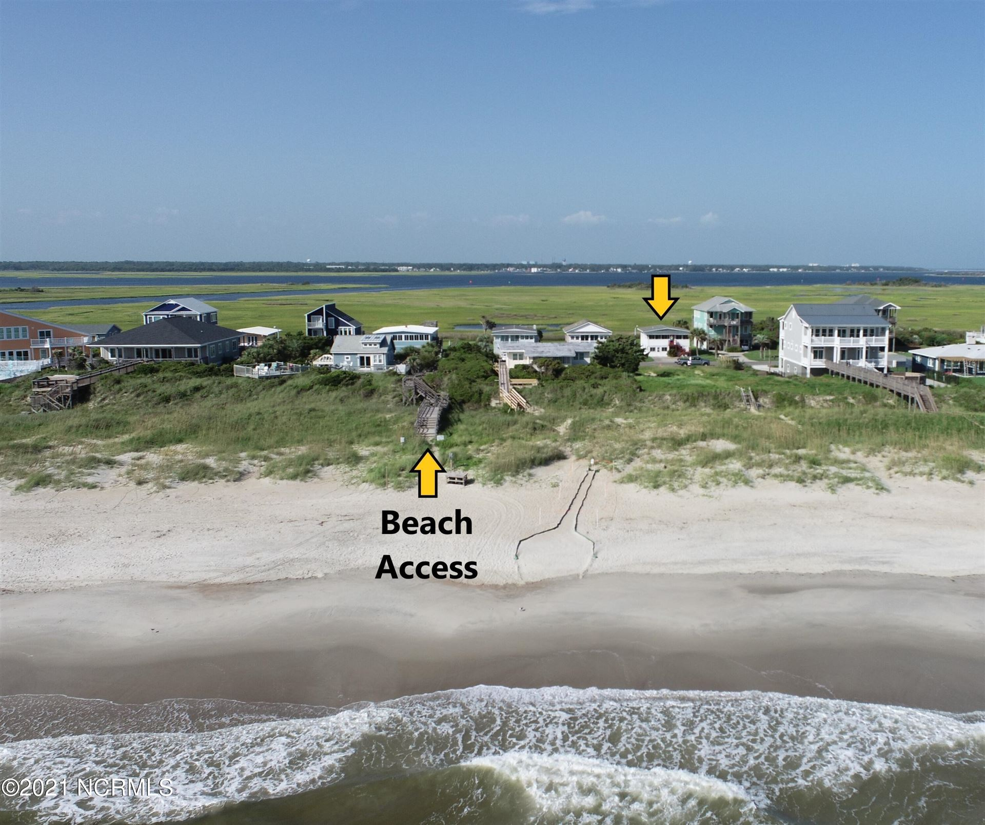 Photo of 132 Caswell Beach Road, Caswell Beach, NC 28465 (MLS # 100287325)