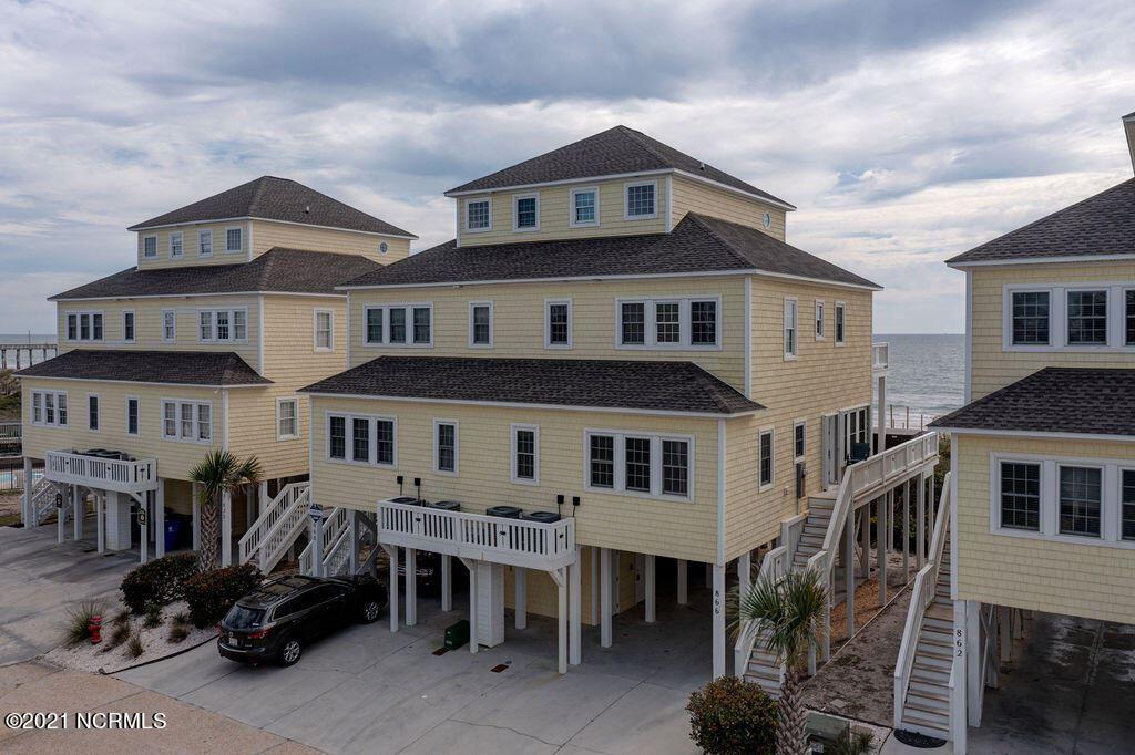 Photo of 866 Villas Drive, North Topsail Beach, NC 28460 (MLS # 100296333)