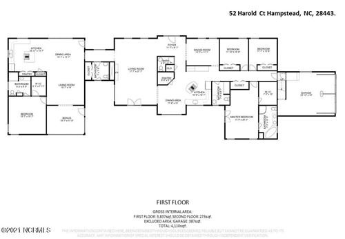 Tiny photo for 52 Harold Court, Hampstead, NC 28443 (MLS # 100277338)