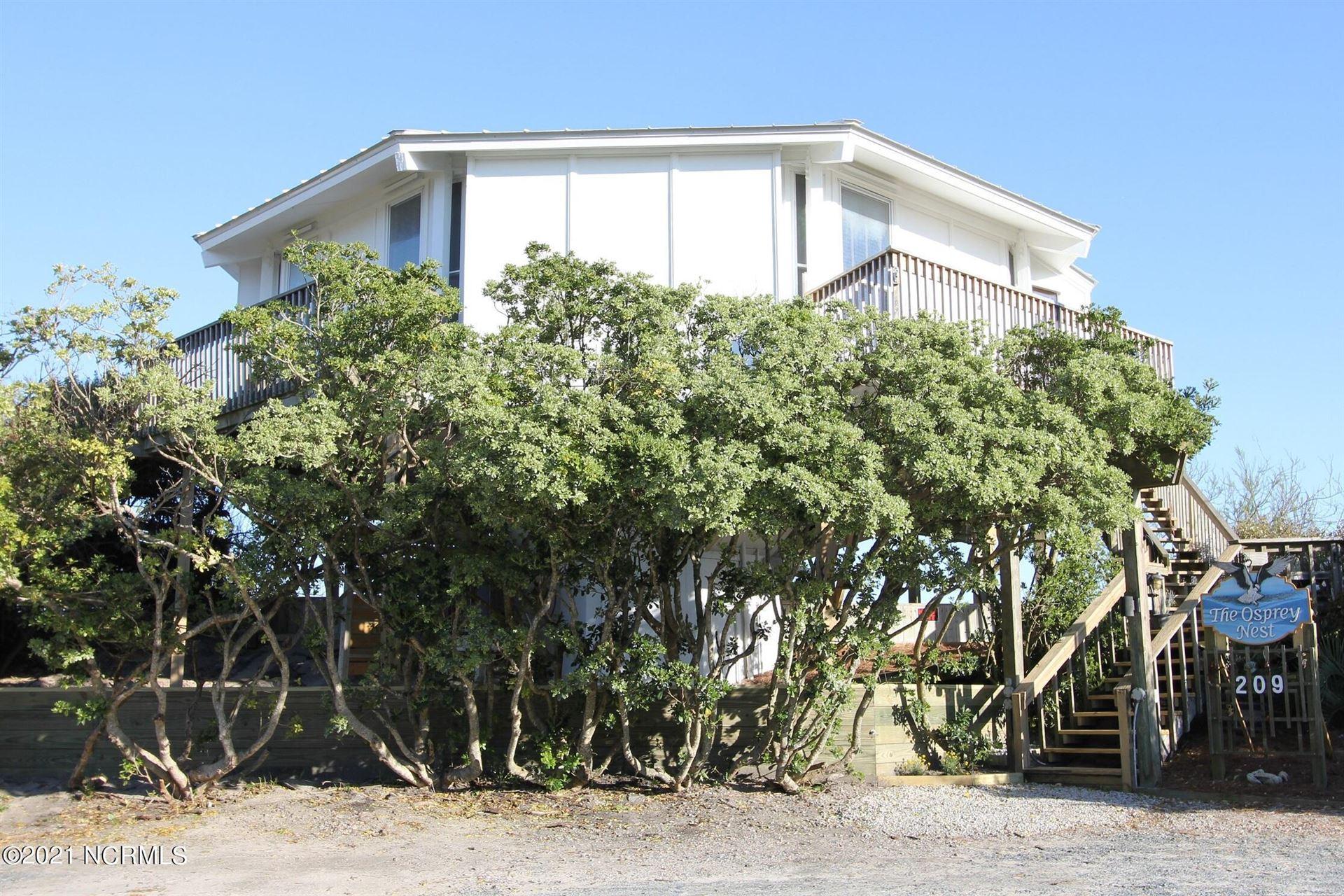 Photo of 209 N Anderson Boulevard, Topsail Beach, NC 28445 (MLS # 100292342)