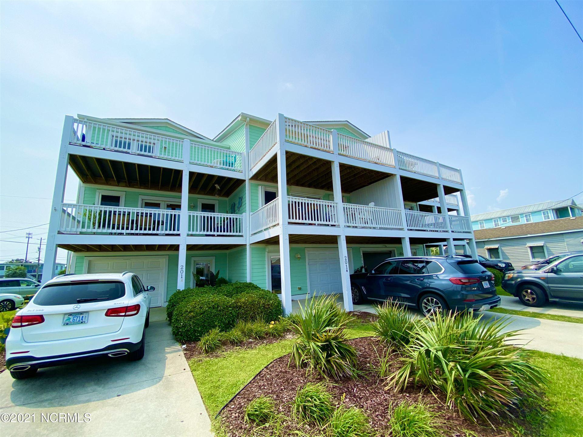 Photo of 201 N Fort Fisher Boulevard N #B, Kure Beach, NC 28449 (MLS # 100283356)