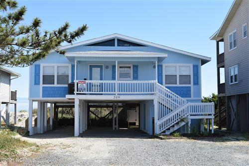 Photo of 509 Ocean Boulevard W, Holden Beach, NC 28462 (MLS # 100271363)