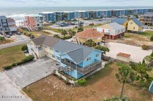 Tiny photo for 203 Oyster Lane, North Topsail Beach, NC 28460 (MLS # 100281371)