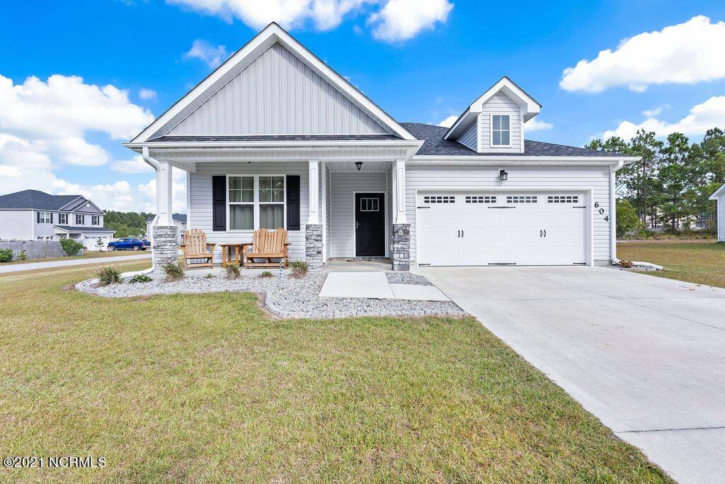 Photo of 604 Winfall Drive, Holly Ridge, NC 28445 (MLS # 100296371)