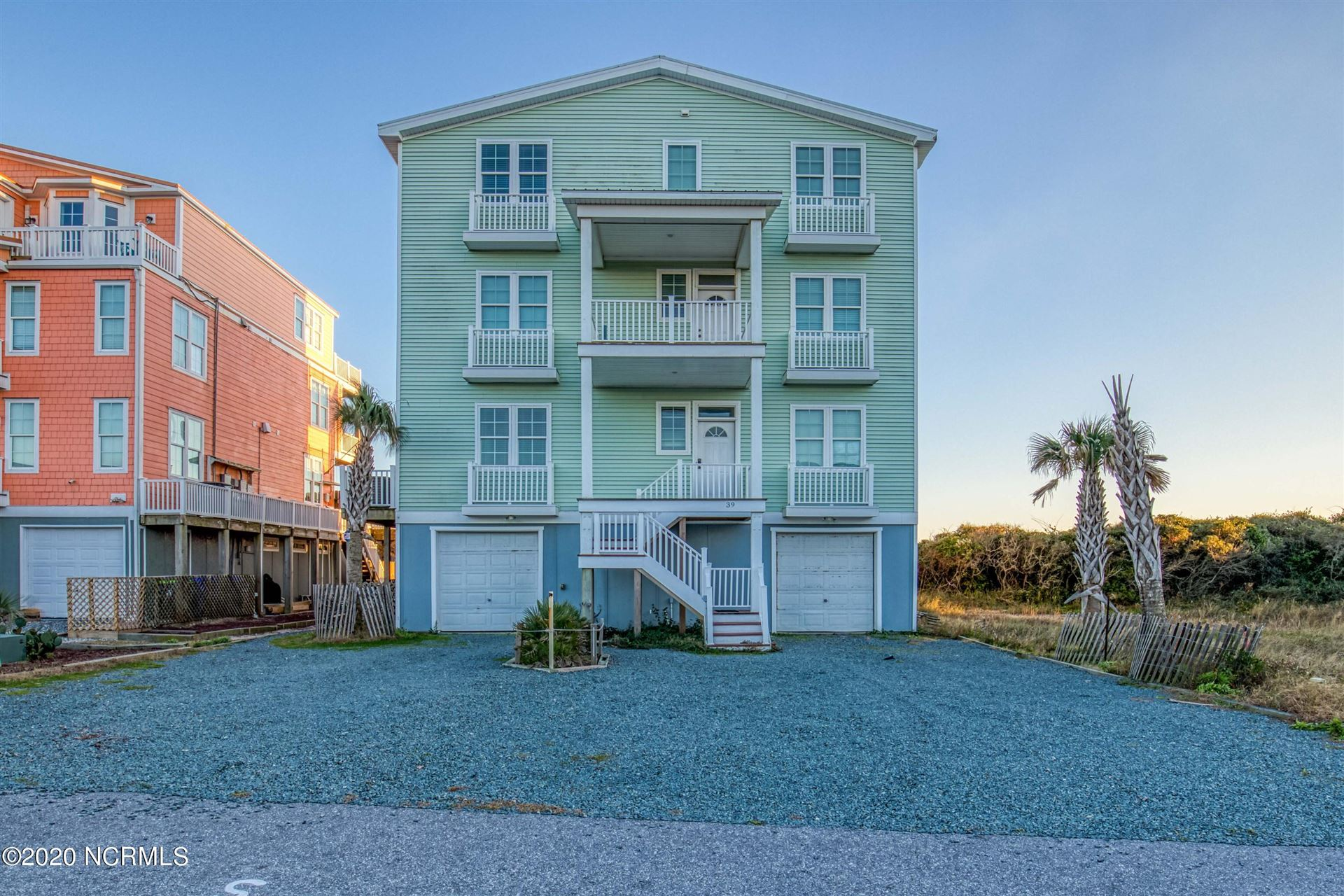 Photo for 39 Porpoise Place, North Topsail Beach, NC 28460 (MLS # 100248375)
