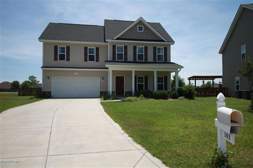 Photo of 103 Long Pond Drive, Sneads Ferry, NC 28460 (MLS # 100230408)