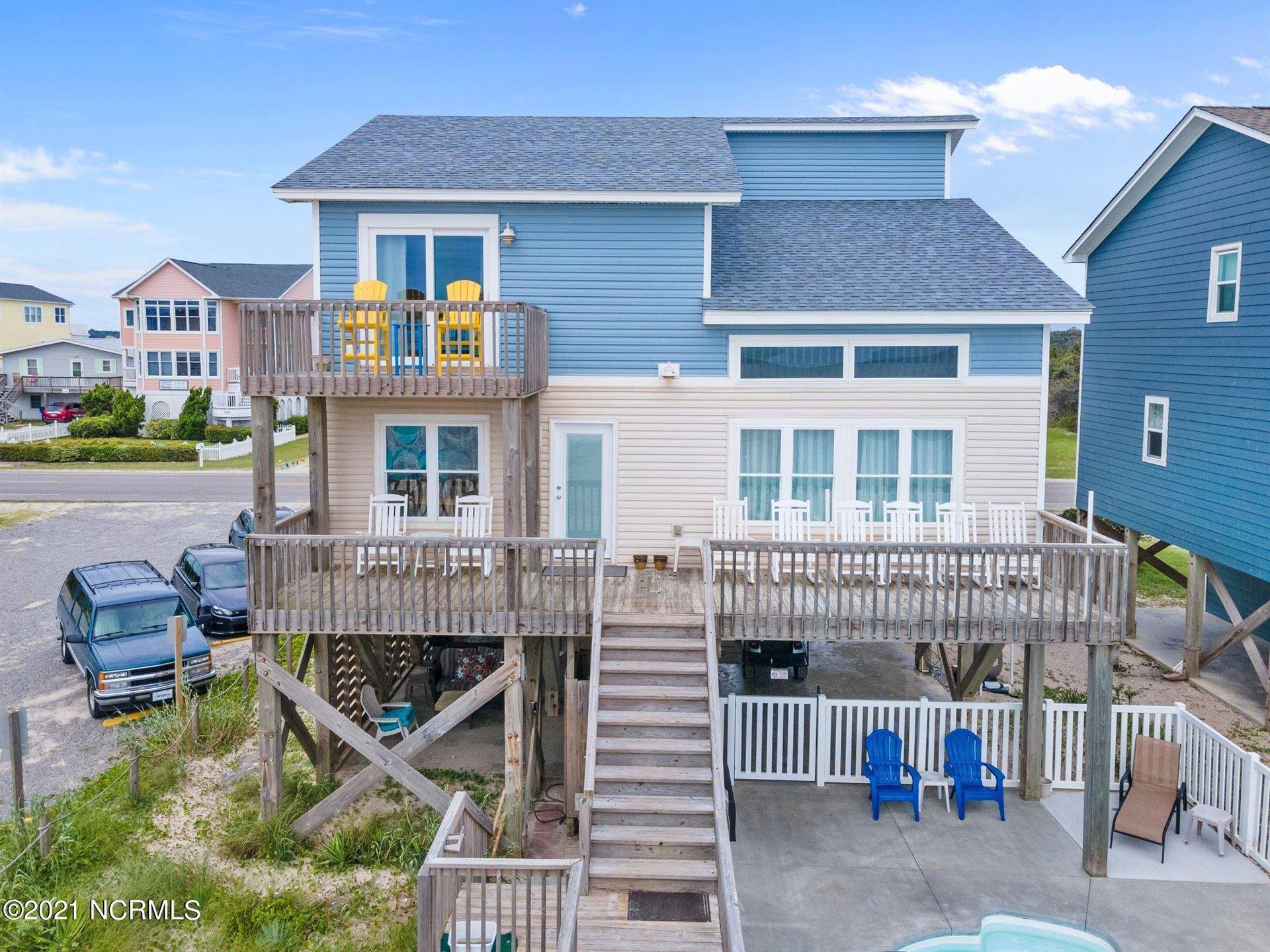 Photo of 4829 W Beach Drive, Oak Island, NC 28465 (MLS # 100285409)