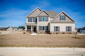 Photo of 146 Oyster Landing Drive, Sneads Ferry, NC 28460 (MLS # 100155414)