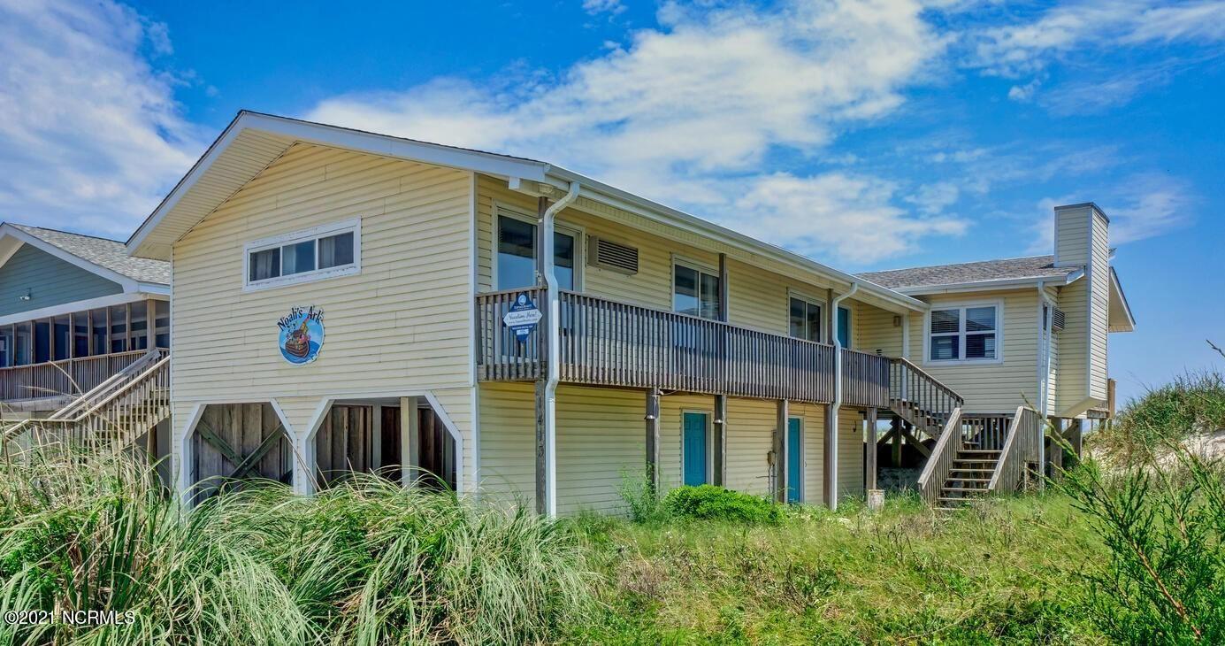 Photo for 1413 Ocean Boulevard, Topsail Beach, NC 28445 (MLS # 100273414)