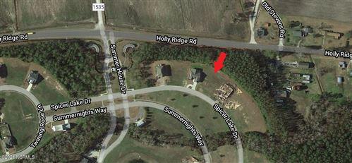 Photo of 111 Spicer Lake Drive, Holly Ridge, NC 28445 (MLS # 100272415)
