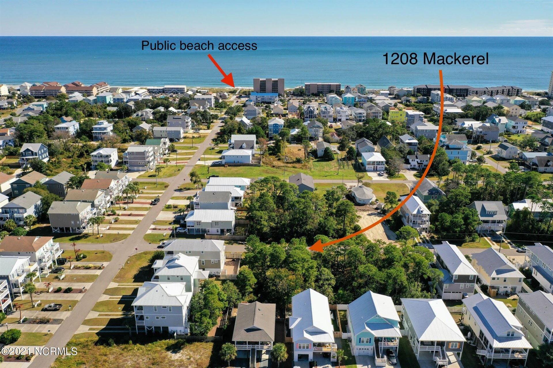 Photo of 1208 Mackerel Lane, Carolina Beach, NC 28428 (MLS # 100296422)