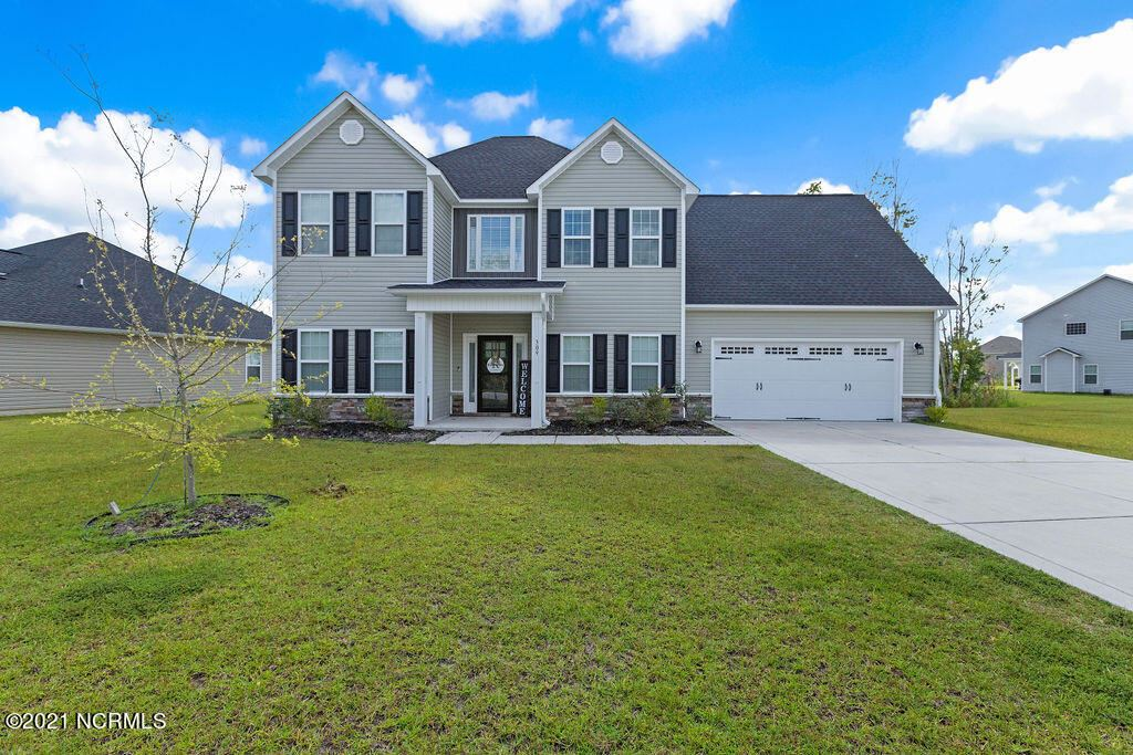 Photo of 309 Old Snap Dragon Court, Jacksonville, NC 28546 (MLS # 100294424)