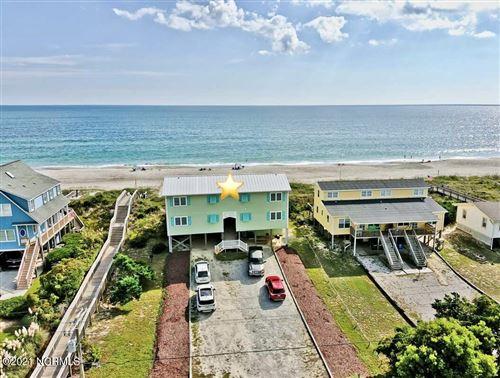 Photo of 4105 Ocean Drive #East And West, Emerald Isle, NC 28594 (MLS # 100295427)
