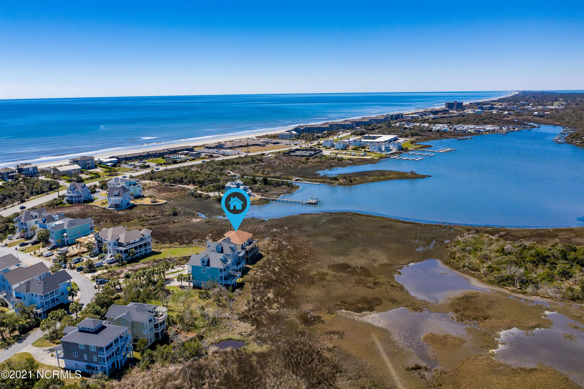 Photo of 117 Coral Bay Court, Atlantic Beach, NC 28512 (MLS # 100263432)