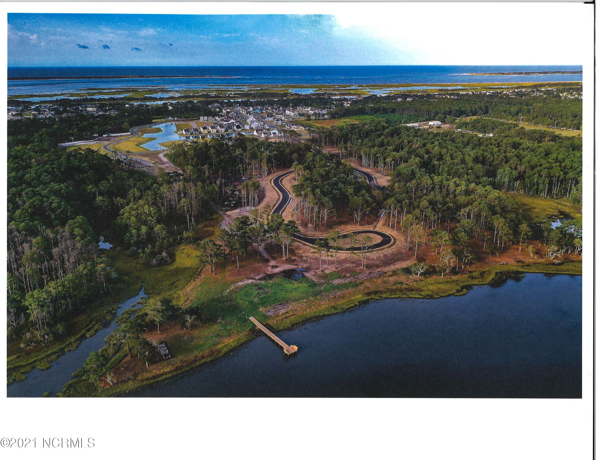 Photo of 553 Avocet Drive, Beaufort, NC 28516 (MLS # 100286435)