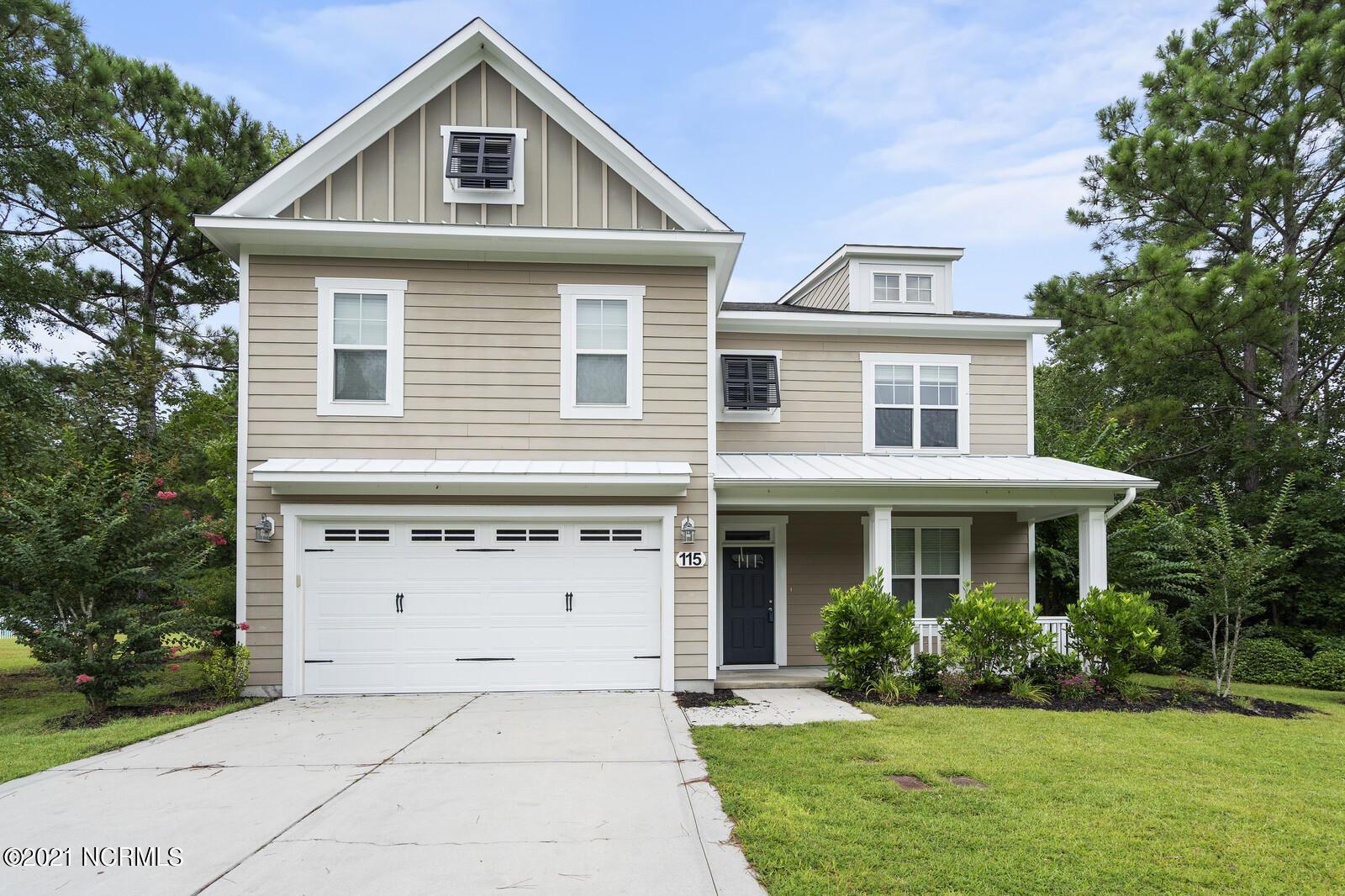 Photo for 115 Saltwater Landing Drive, Hampstead, NC 28443 (MLS # 100285457)