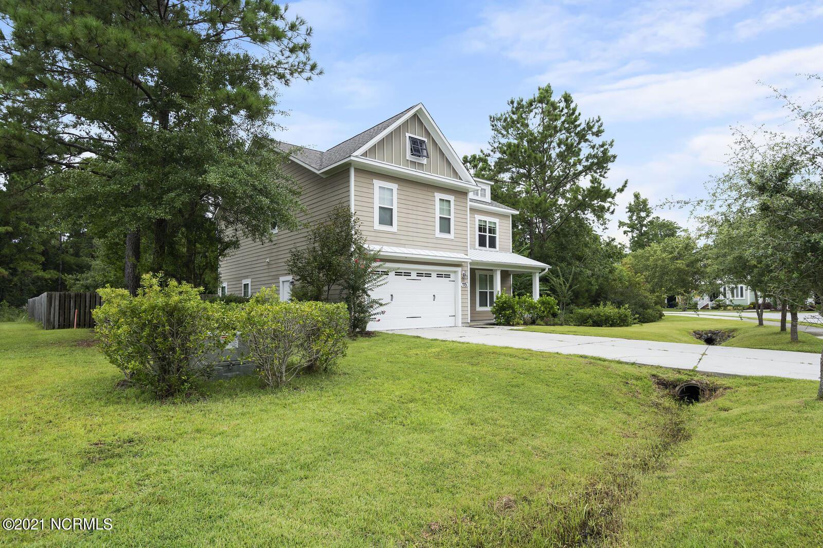 Photo of 115 Saltwater Landing Drive, Hampstead, NC 28443 (MLS # 100285457)