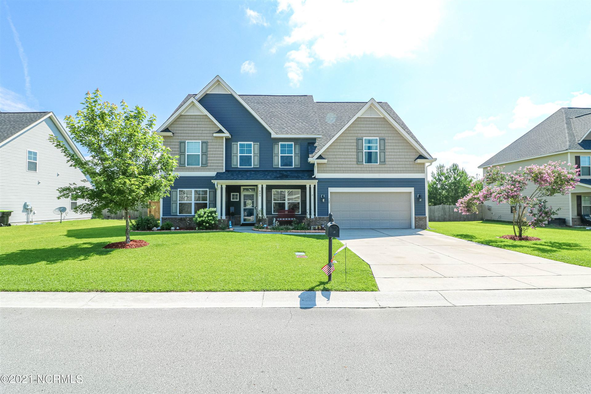 Photo of 405 Cyrus Thompson Drive, Jacksonville, NC 28546 (MLS # 100281458)