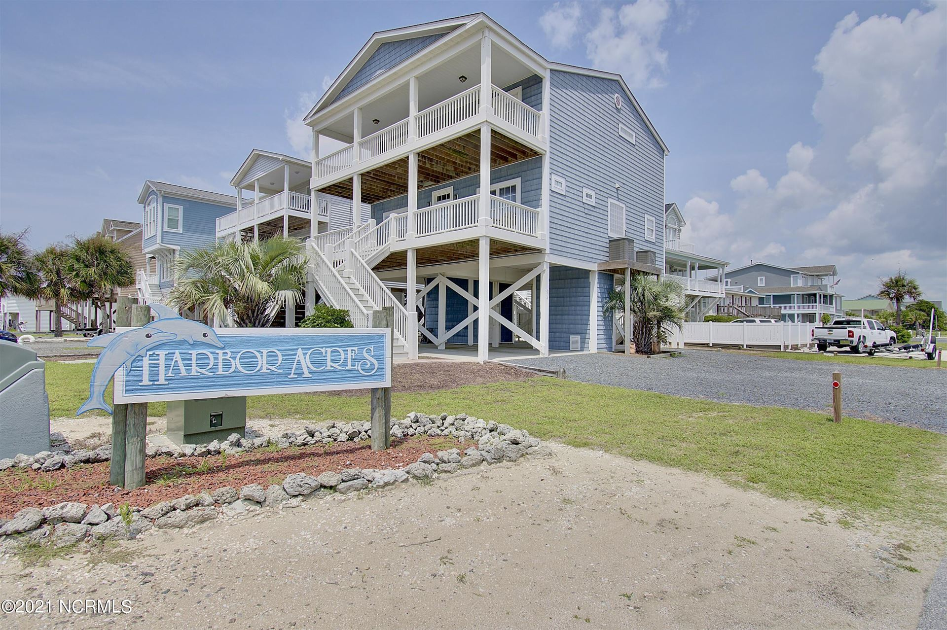 Photo of 878 Ocean Boulevard W, Holden Beach, NC 28462 (MLS # 100284463)