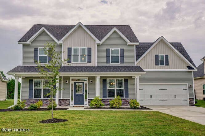 Photo of 315 SW Plantation Drive, Maple Hill, NC 28454 (MLS # 100288474)