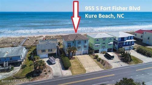 Photo of 955 Fort Fisher Boulevard S, Kure Beach, NC 28449 (MLS # 100107489)