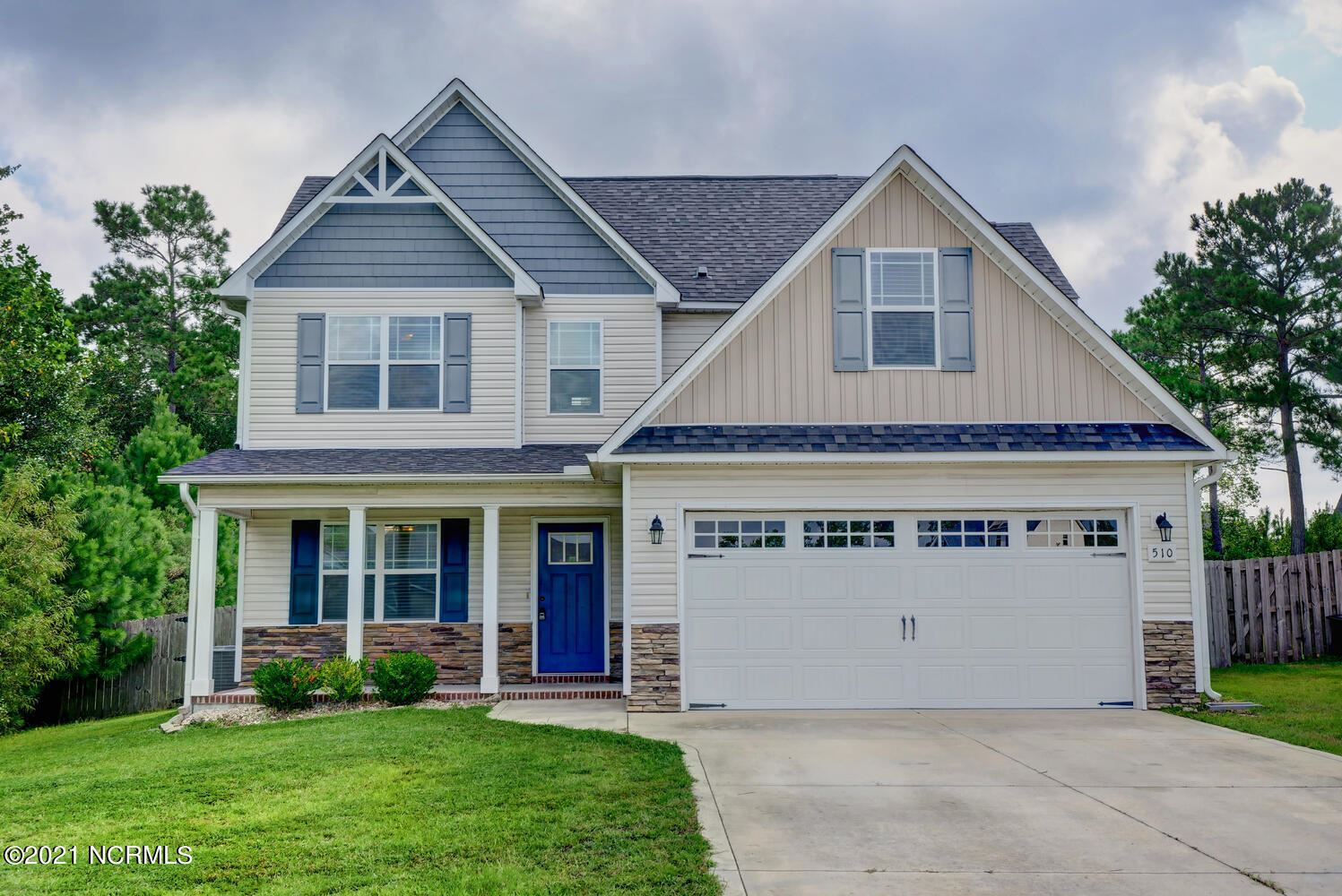 Photo of 510 Deep Inlet Drive, Sneads Ferry, NC 28460 (MLS # 100287494)