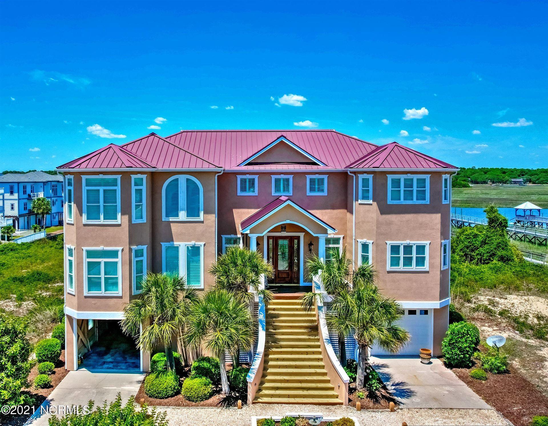 Photo of 198 W Fourth Street, Ocean Isle Beach, NC 28469 (MLS # 100273498)